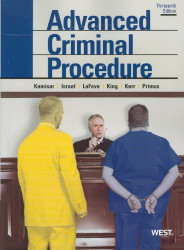 Advanced Criminal Procedure