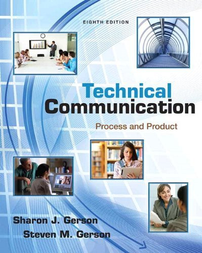 Technical Communication Process And Product