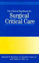 Clinical Handbook For Surgical Critical Care
