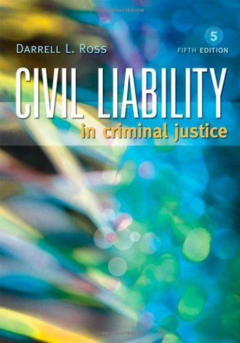 Civil Liability In Criminal Justice