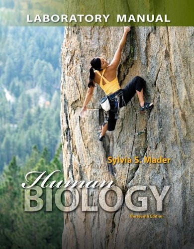 Human Biology Sylvia S. Mader 11th ed.