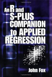 R Companion To Applied Regression