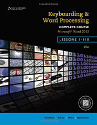 Keyboarding And Word Processing Complete Course Lessons 1-110
