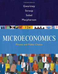 Coursebook For Gwartney/Stroup/Sobel/Macpherson's Microeconomics