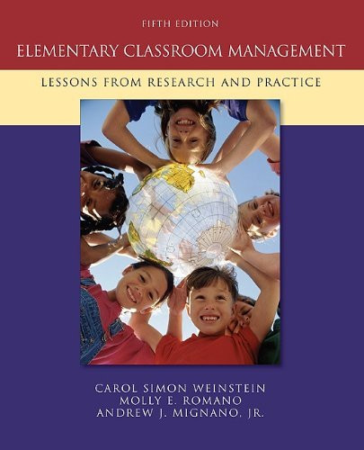 Elementary Classroom Management