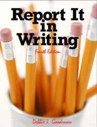 Report It In Writing