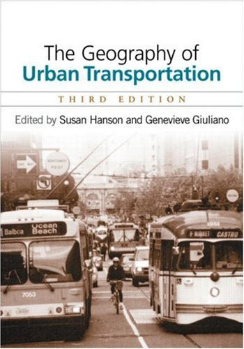 Geography Of Urban Transportation