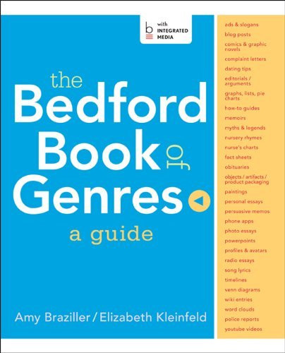 Bedford Book Of Genres