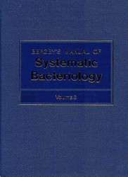 Bergey's Manual Of Systematic Bacteriology Volume 3