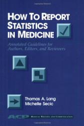 How To Report Statistics In Medicine