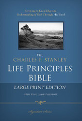 Charles F Stanley Life Principles Bible NKJV