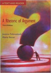 Rhetoric Of Argument