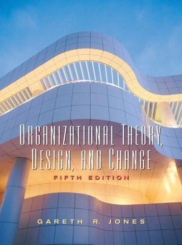 ch01 organizations and organization theory