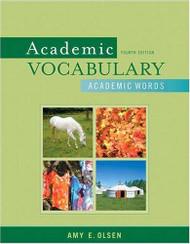 Academic Vocabulary Academic Words