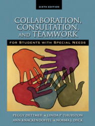 Collaboration Consultation And Teamwork For Students With Special Needs