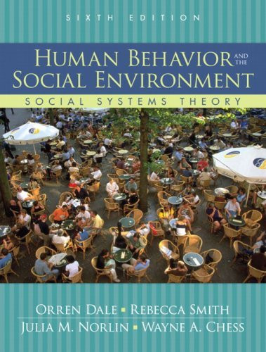 Human Behavior And The Social Environment