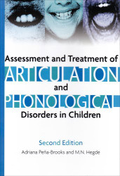 Assessment And Treatment Of Articulation And Phonological Disorders In Children
