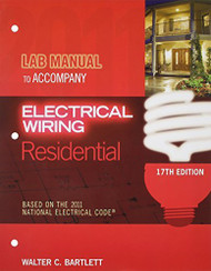 Lab Manual For Mullin/Simmons' Electrical Wiring Residential