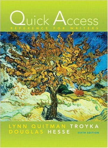Quick Access Reference For Writers