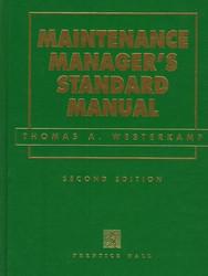 Maintenance Manager's Standard Manual