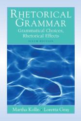 Rhetorical Grammar