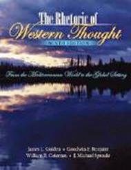 Rhetoric Of Western Thought