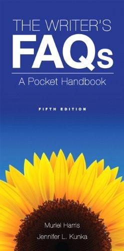 Writer's Faqs