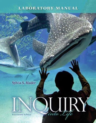 Inquiry Into Life Lab Manual