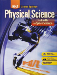 Science Spectrum Physical Science With Earth And Space Science Student Edition