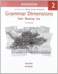 Grammar Dimensions 2 Workbook