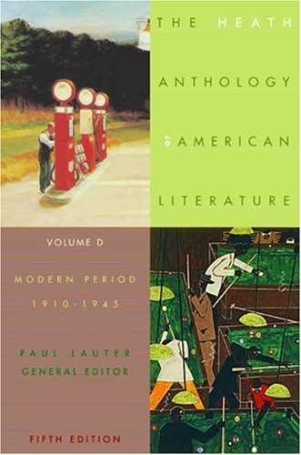 Heath Anthology Of American Literature Volume D