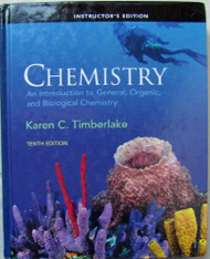 Chemistry - Instructor's