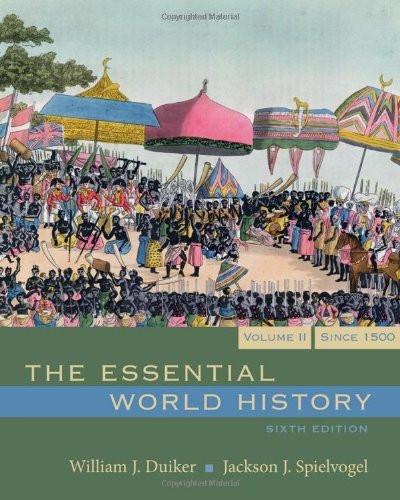 Essential World History Volume 2
