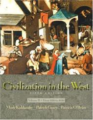 Civilization In The West Volume B