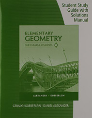 Elementary Geometry For College Students Solutions Guide