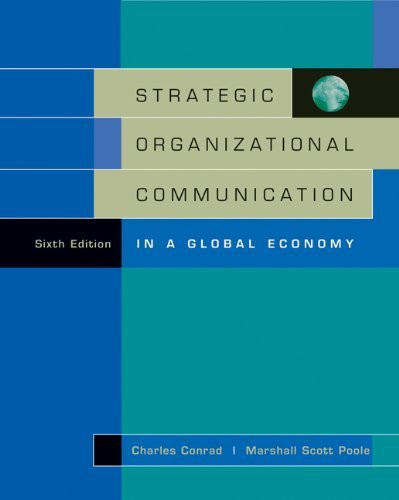 Strategic Organizational Communication