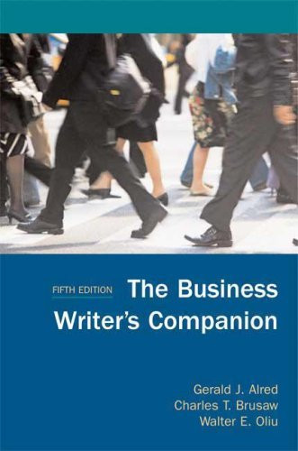 Business Writer's Companion