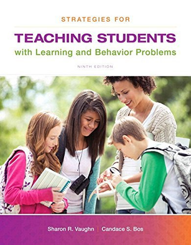 Strategies For Teaching Students With Learning And Behavior Problems Enhanced