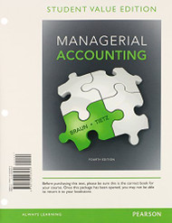 Managerial Accounting Plus New Myaccountinglab