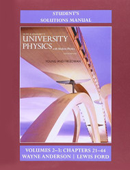 Student Solutions Manual For University Physics Volumes 2 And 3