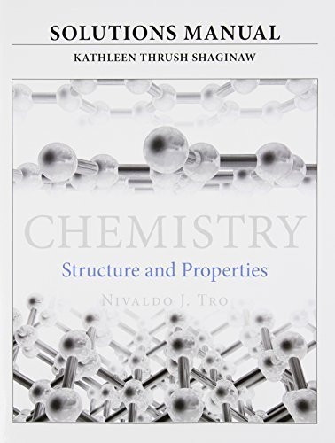 Solutions Manual For For Chemistry