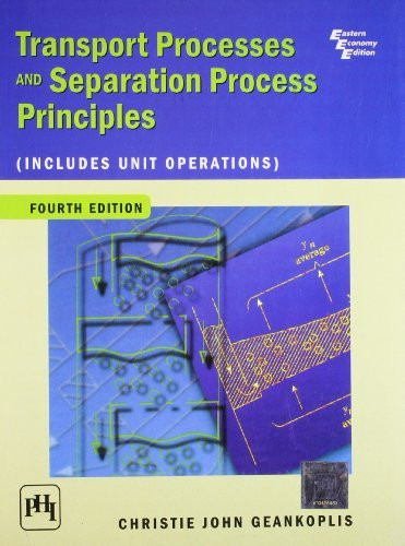 Transport Processes And Separation Proce
