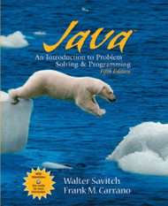 Java Introduction to Problem Solving and Programming