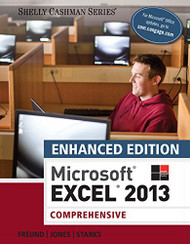 Enhanced Microsoft Excel 2013 Comprehensive