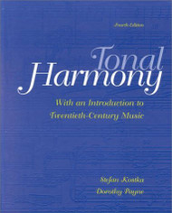 Tonal Harmony With an Introduction to Twentieth-Century Music