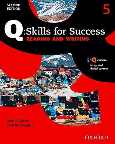 Q Skills for Success Reading and Writing 2E Level 5 Student Book