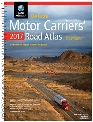 Rand McNally 2017 Deluxe Motor Carriers' Road Atlas