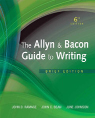 Allyn And Bacon Guide To Writing Brief Version