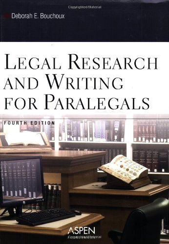Legal Research And Writing For Paralegals
