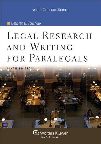 Legal research and writing help for paralegals